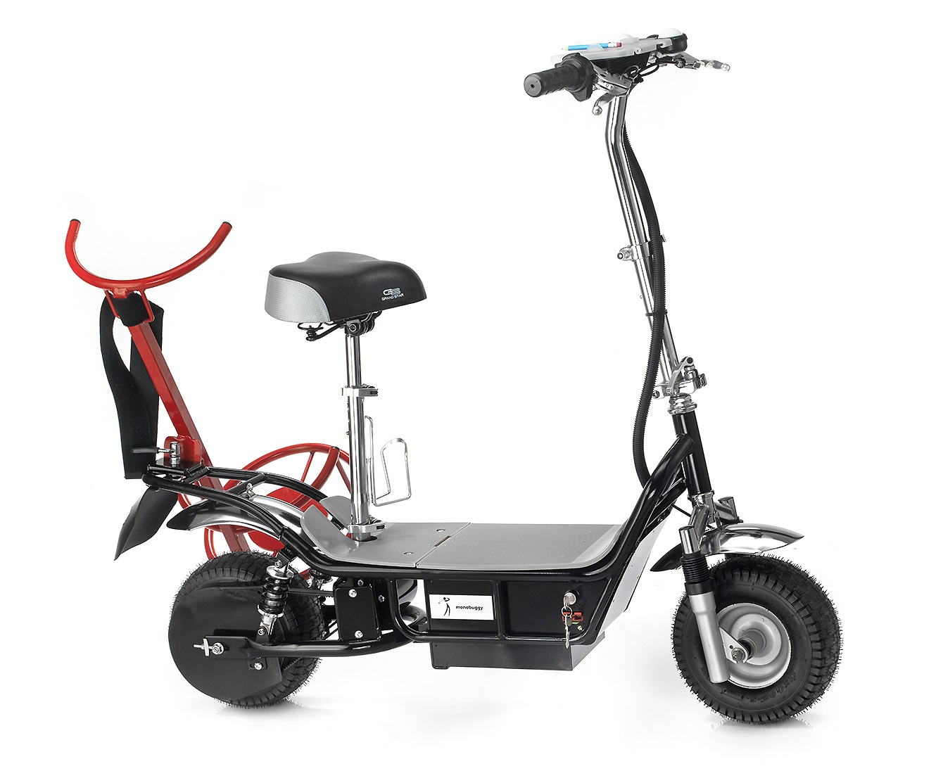 Scooter with Rack only from right side