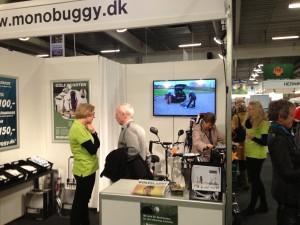 Dansk Golfshow Monobuggy stand L 9244