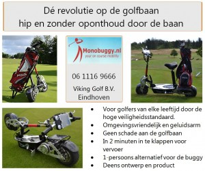 1505 Monobuggy Golfclub Waterland